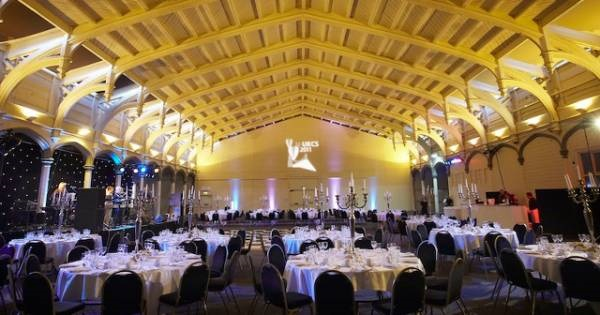 Passenger Shed Venue Hire BS1- Main fuction room set out for an awards ceremony