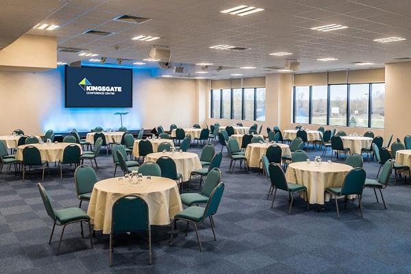 Kingsgate Conference Centre Venue Hire PE1 tables set out banqueting style