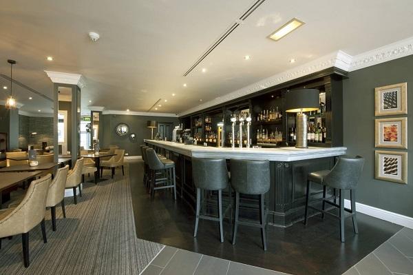 Roxburghe Hotel Hogmanay EH2 hotel bar
