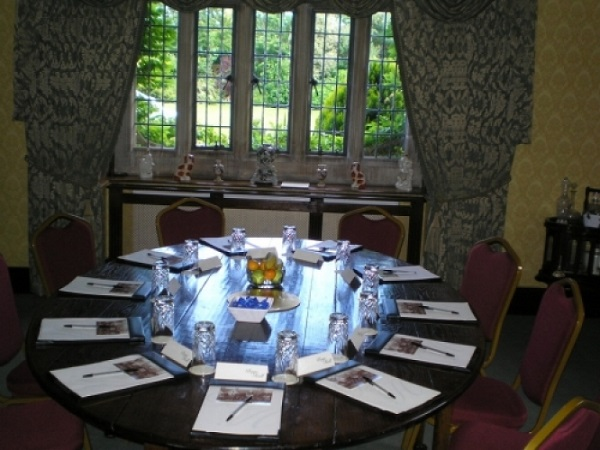 Boys Hall Venue Hire TN24- Function room made out for lunch meeting