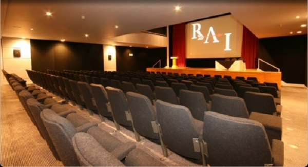 Royal Armouries Museum Venue Hire LS10- Main function room set out theatre style
