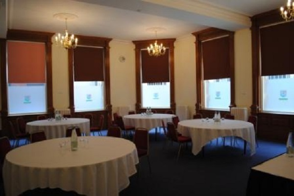 Armada House Venue Hire BS1- Small side function room set out caberet style