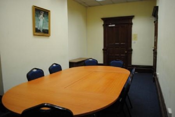 Armada House Venue Hire BS1- Small side functin room set out boardroom style