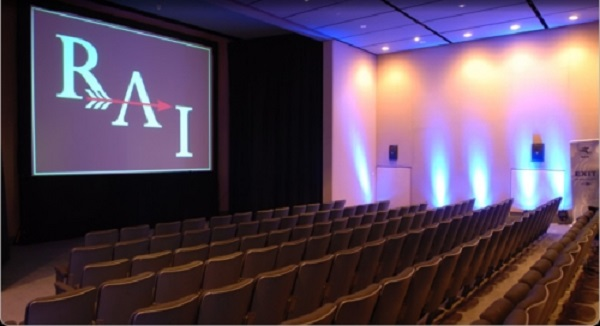Royal Armouries Museum Venue Hire LS10- Cinema room set out with theatre style chairs for a product launch