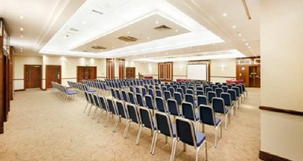 Hilton Sheffield Venue Hire S4- Theatre style conference