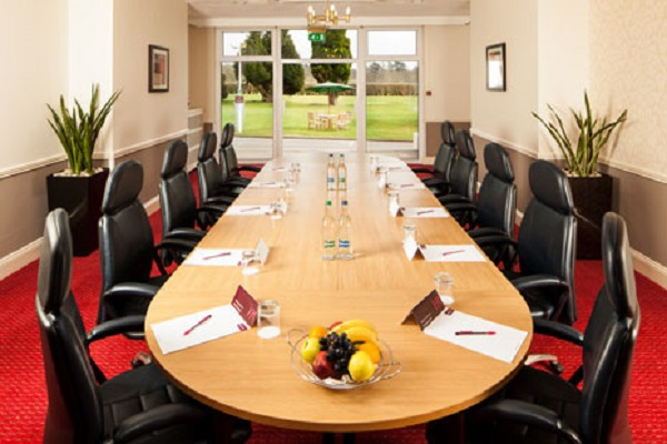 Mercure Maidstone Venue Hire ME17- meeting room overlooking the country grounds