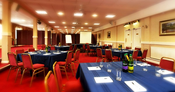 The King Charles Hotel ME7- Function room hosting a banqueting style conference