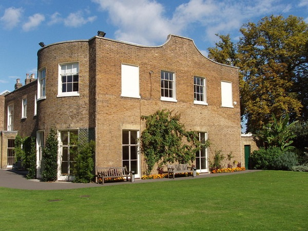 Cambridge Cottage Kew Summer Party TW9- Venue grounds on a summers day