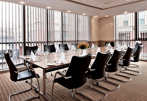 Millennium & Copthorne Conferences Venue SW6- Smaller meeting room set out for a lunch meeting