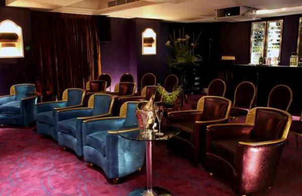Sanctum Soho Hotel Conference Venue W1- Cinema room ready for a private screening