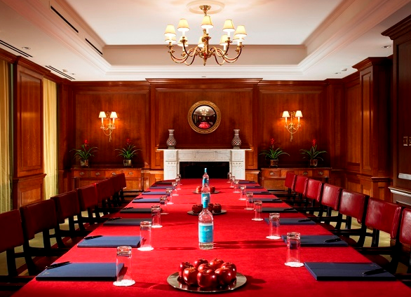 86 Park Lane Conference Venue W1K- Board meeting in one of the main suites
