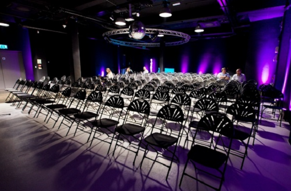 Studio Spaces E1 Conference Venue E1- Theatre syle lay out for a product launch