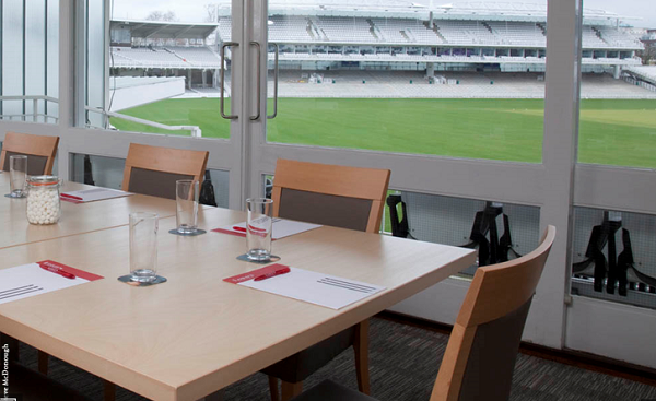 Lord's Conferences Venue NW8- Smaller meeting room over looking the cricket ground