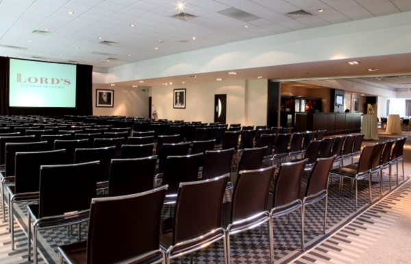 Lord's Conferences Venue NW8- Main function room set out theatre style
