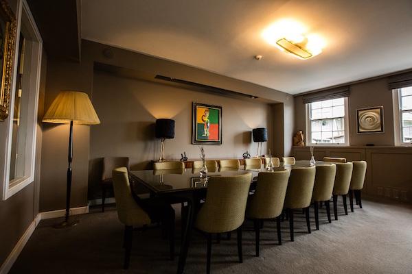 Bird of Smithfield Venue Hire EC1A private dining room