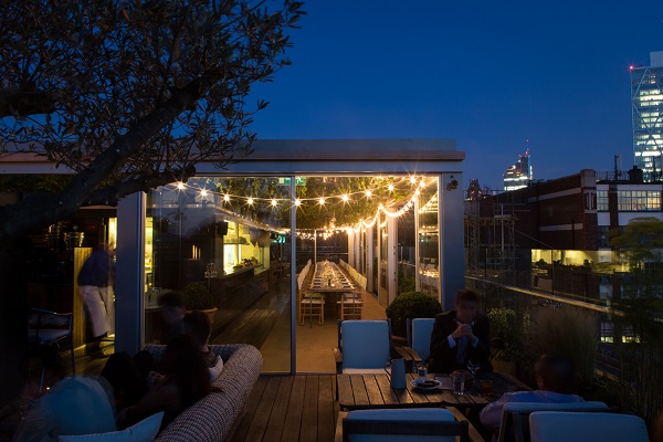 Boundary Venue Hire E2- Rooftop bar in the summer months