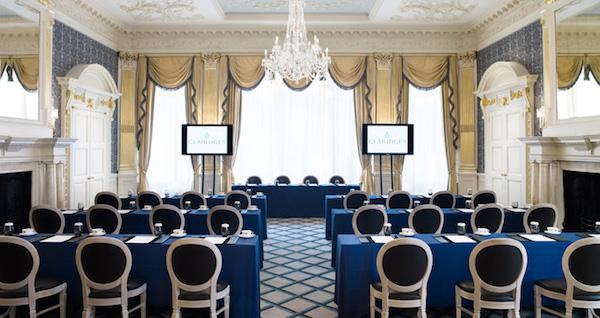 Claridges Mayfair Conference Venue W1K
