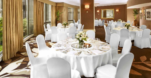 Park Tower Knightsbridge Conference Venue SW1- caberet style lunch meeting