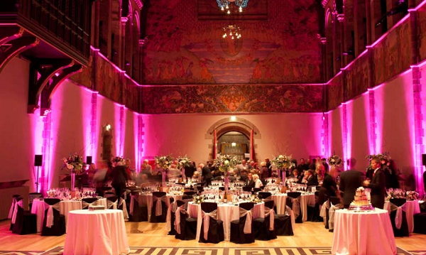 Mansfield Traquair Venue Hire EH3- Christmas party set out