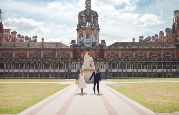Royal Holloway Venue Hire TW20- Outside space for a wedding reception