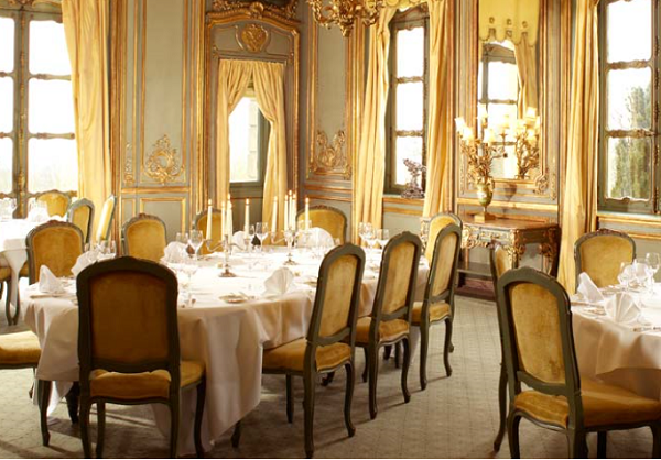 Cliveden House Venue Hire BH25- French dining room set out for a summer party