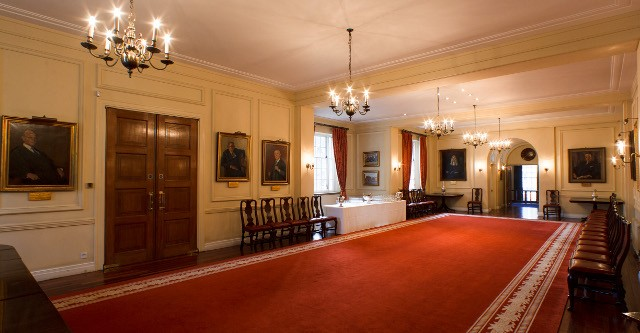 Grays Inn Venue Hire WC1R standing reception area