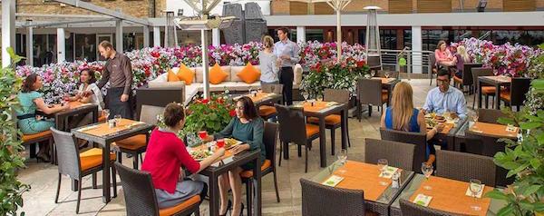 Jumeirah Lowndes Venue Hire SW1 hotels terrace