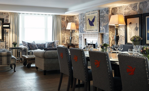 Haymarket Hotel Venue Hire SW1Y- Nash room set up for a conference