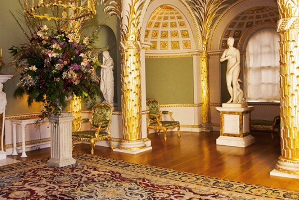 Spencer House Venue Hire SW1A- Palm room used for a drinks reception