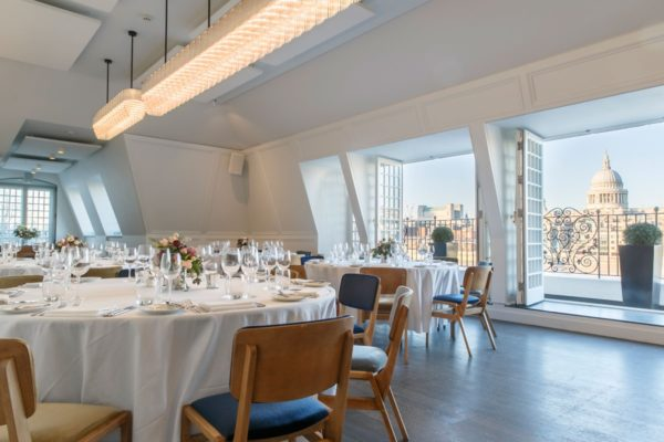 Swan London Bar & Restaurant Venue Hire SE1 beautiful balcony room that has just been refitted with views of st.pauls