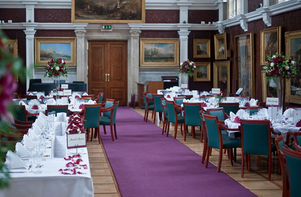 Royal Holloway Venue Hire TW20- Wedding reception set out for day guests
