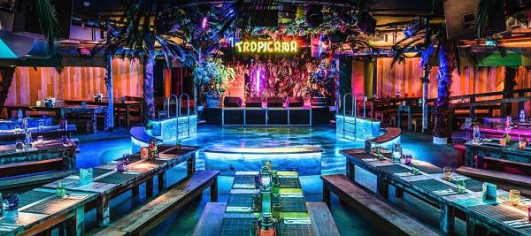Tropicana Beach Club Summer Party Venue WC2B
